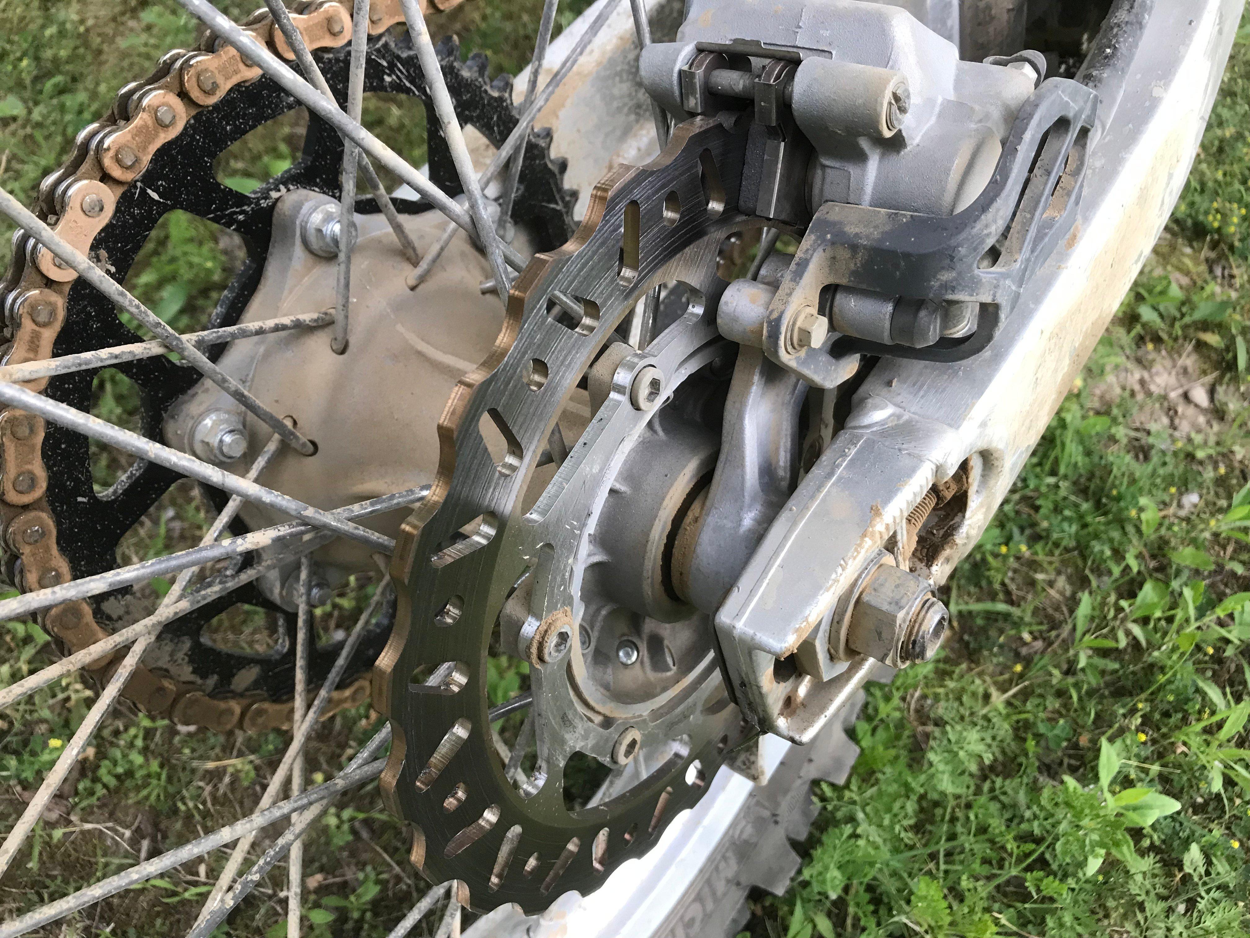 ProX brake rotor and brake pads