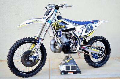 Project ProX Husqvarna TC250 2-Stroke by Dirt Bike Magazine