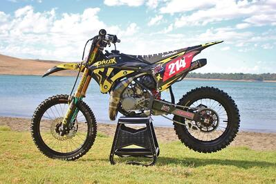 Super-Mini: Mora Mechanical Racing's ProX KX85