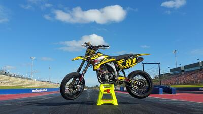 Bike Build: One of a Kind YZF290 Supermoto