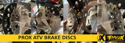 ProX Racing Parts Introduces Brake Discs for ATVs