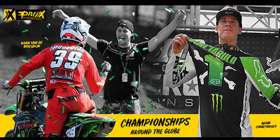 ProX Collects Pro Motocross and European MX Championships