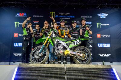 Preparation Meets Opportunity for ProX, Davalos at Nashville Supercross