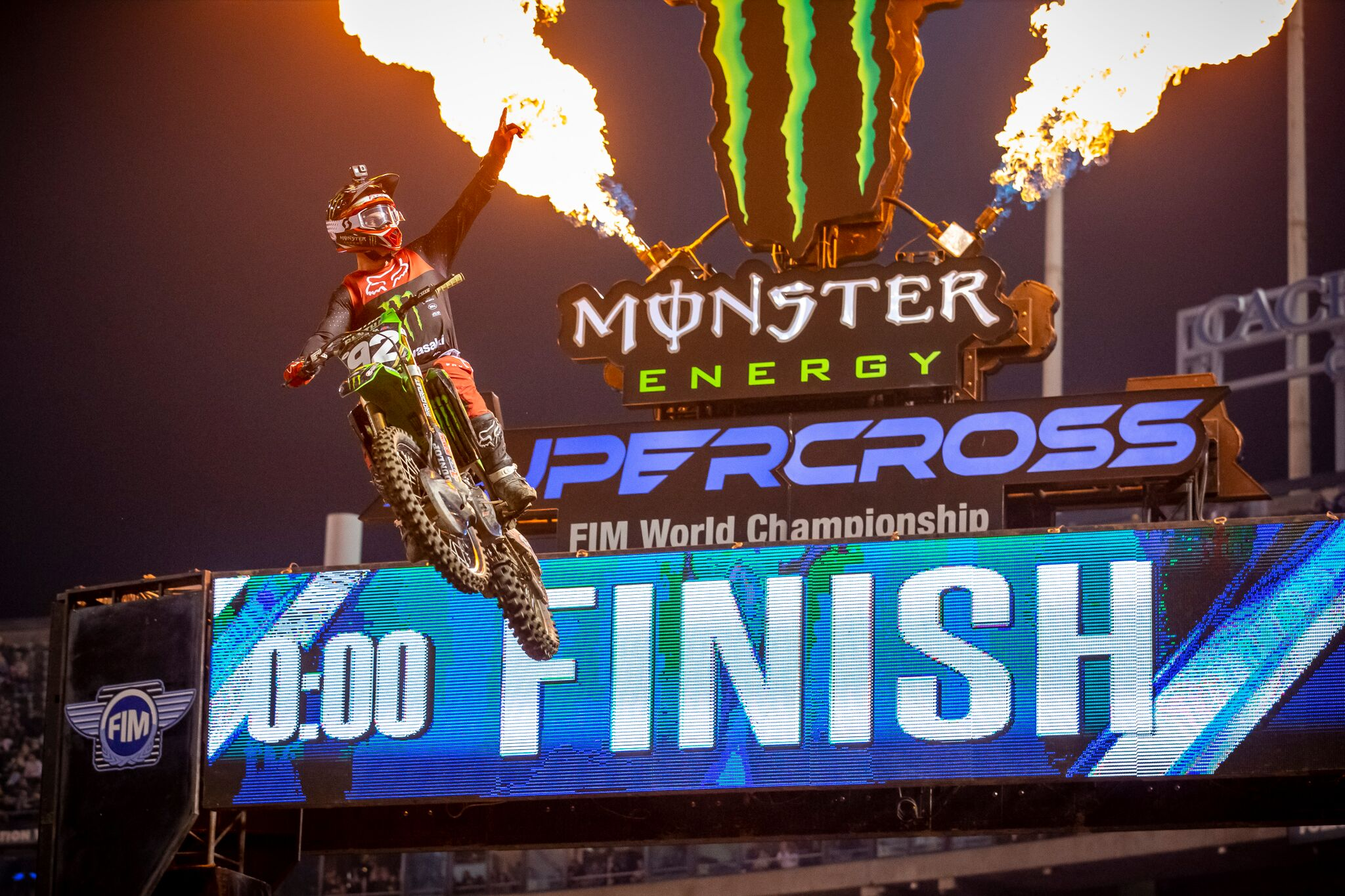 Top of the Box for ProX at Oakland Supercross