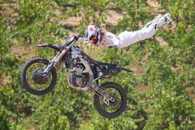 Catching Up with Vicki Golden: The Transition from Supercross to FMX