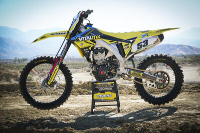 Vital MX's 2019 Suzuki RM-Z450 Factory Bike Build
