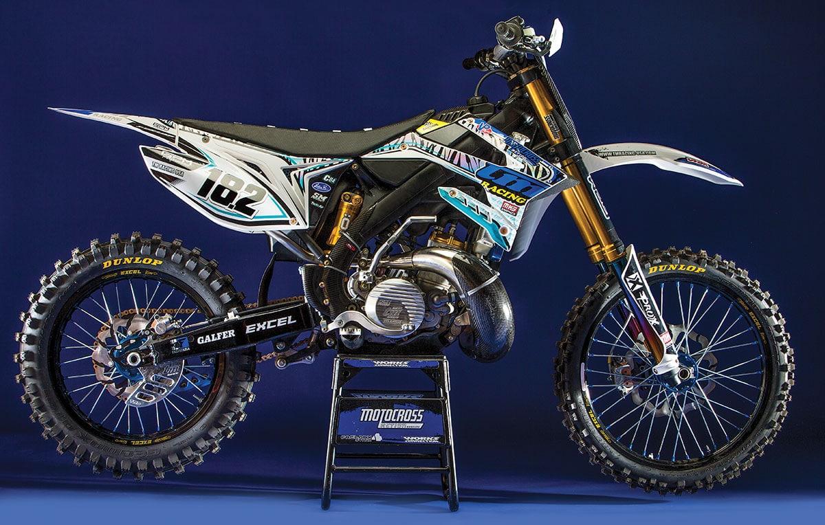 MXA Rides a TM Racing MX300 Factory-Level Two-Stroke